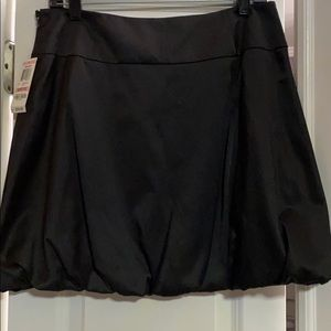 INC bubble satiny skirt NWT